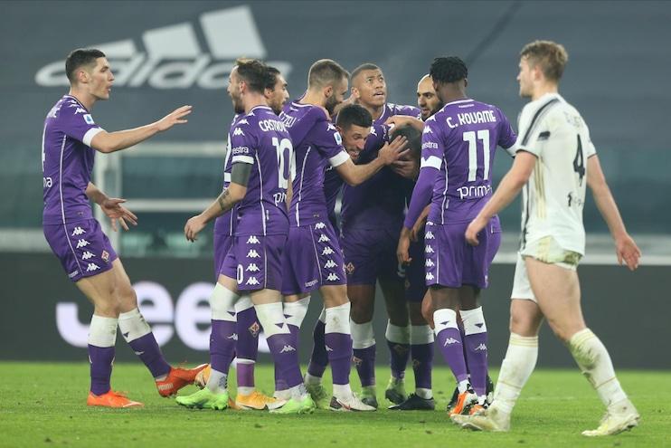 Juventus-Fiorentina 0-3, il tabellino