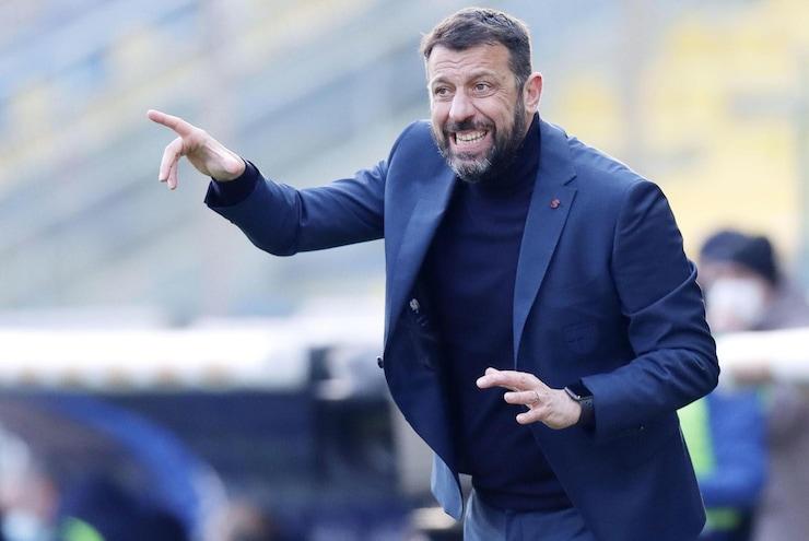 """Parma, D'Aversa: """"Per un'ora abbiamo tenuto testa alla Lazio"""""""