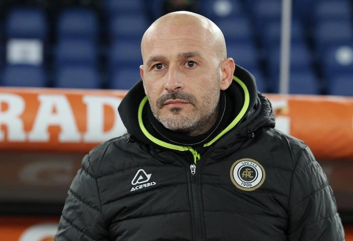 """Spezia, Italiano: """"Coppa archiviata, la Roma avrà il dente avvelenato"""""""