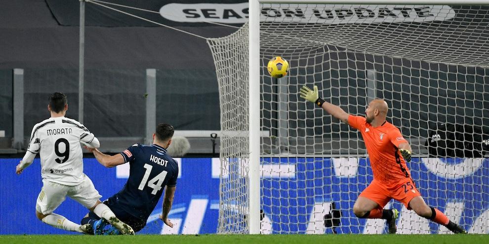 Juve-Lazio 3-1: tabellino, statistiche e marcatori