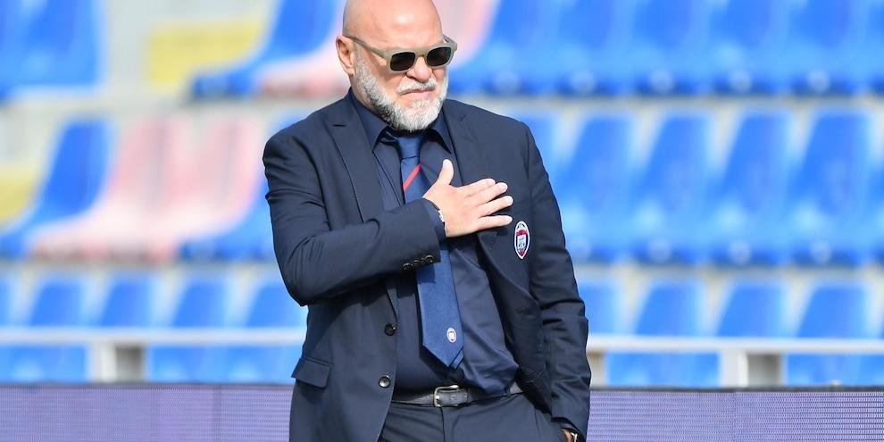 """Crotone, Cosmi: """"Ounas? Quel gol al 94' non è da tutti..."""""""