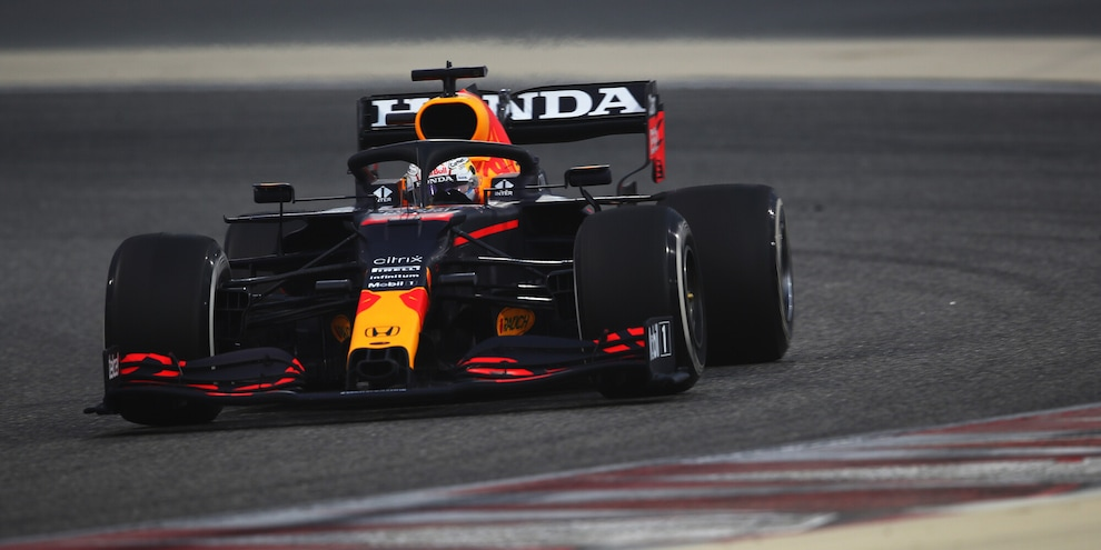 F1, Test Bahrain 2021: Verstappen il più veloce nel day 3, terzo Sainz