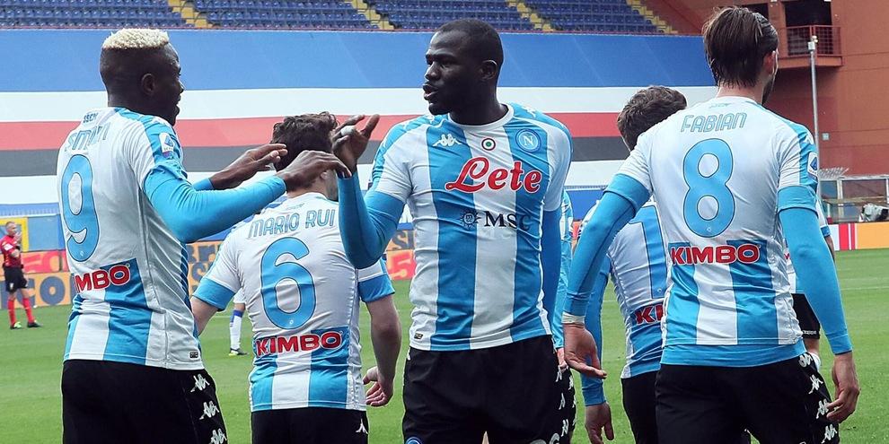 Sampdoria-Napoli 0-2: commento al risultato della partita