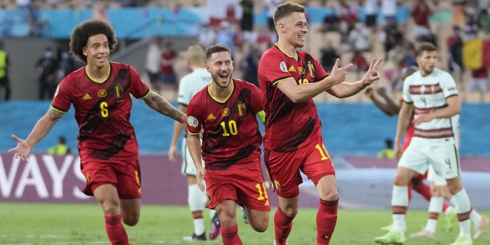 Belgio-Portogallo 1-0: Lukaku sfiderà l'Italia. Fuori Ronaldo
