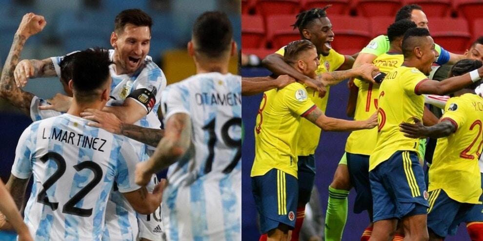 Coppa America, Argentina e Colombia volano in semifinale
