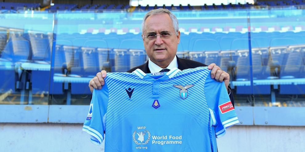 Lazio, idea sponsor sulla maglia: la situazione