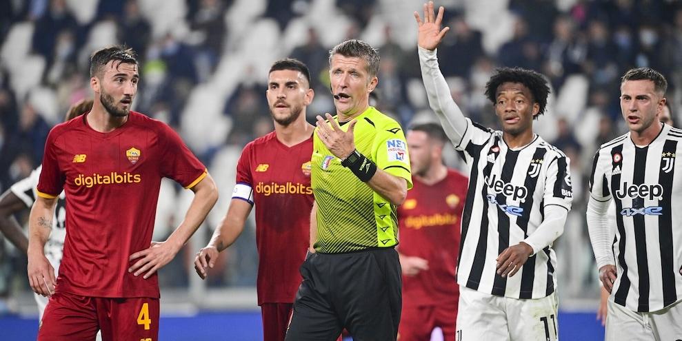 Juve-Roma 1-0: Kean condanna Mourinho ma è bufera su Orsato